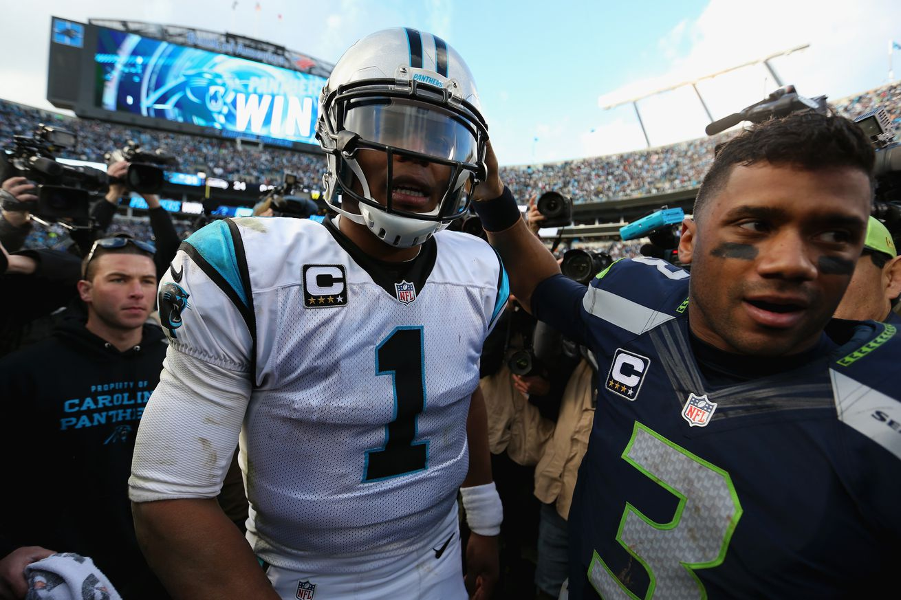 Russell Wilson vs Cam Newton: By the numbers