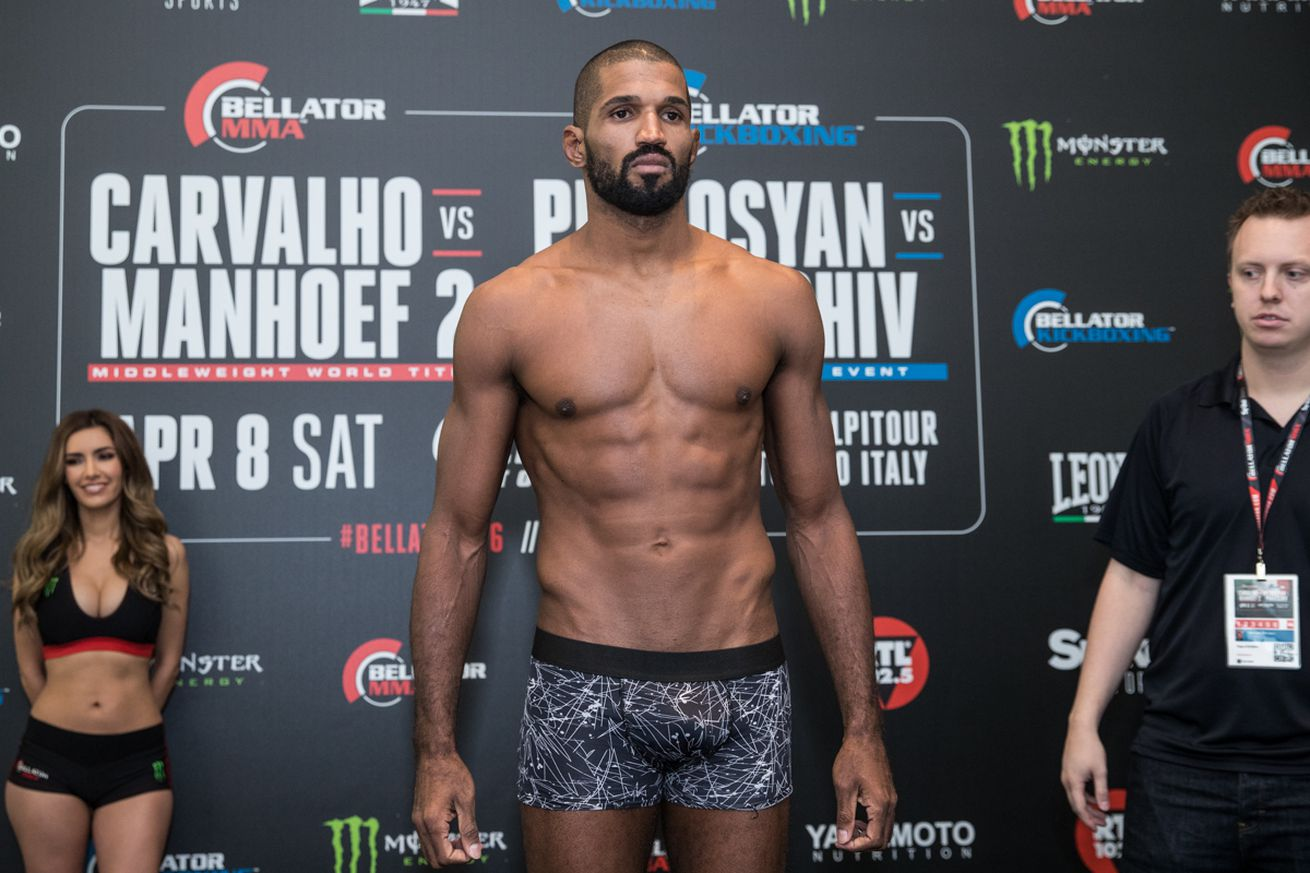 community news, Bellator 176 weigh in results for Carvalho vs Manhoef 2 in Torino