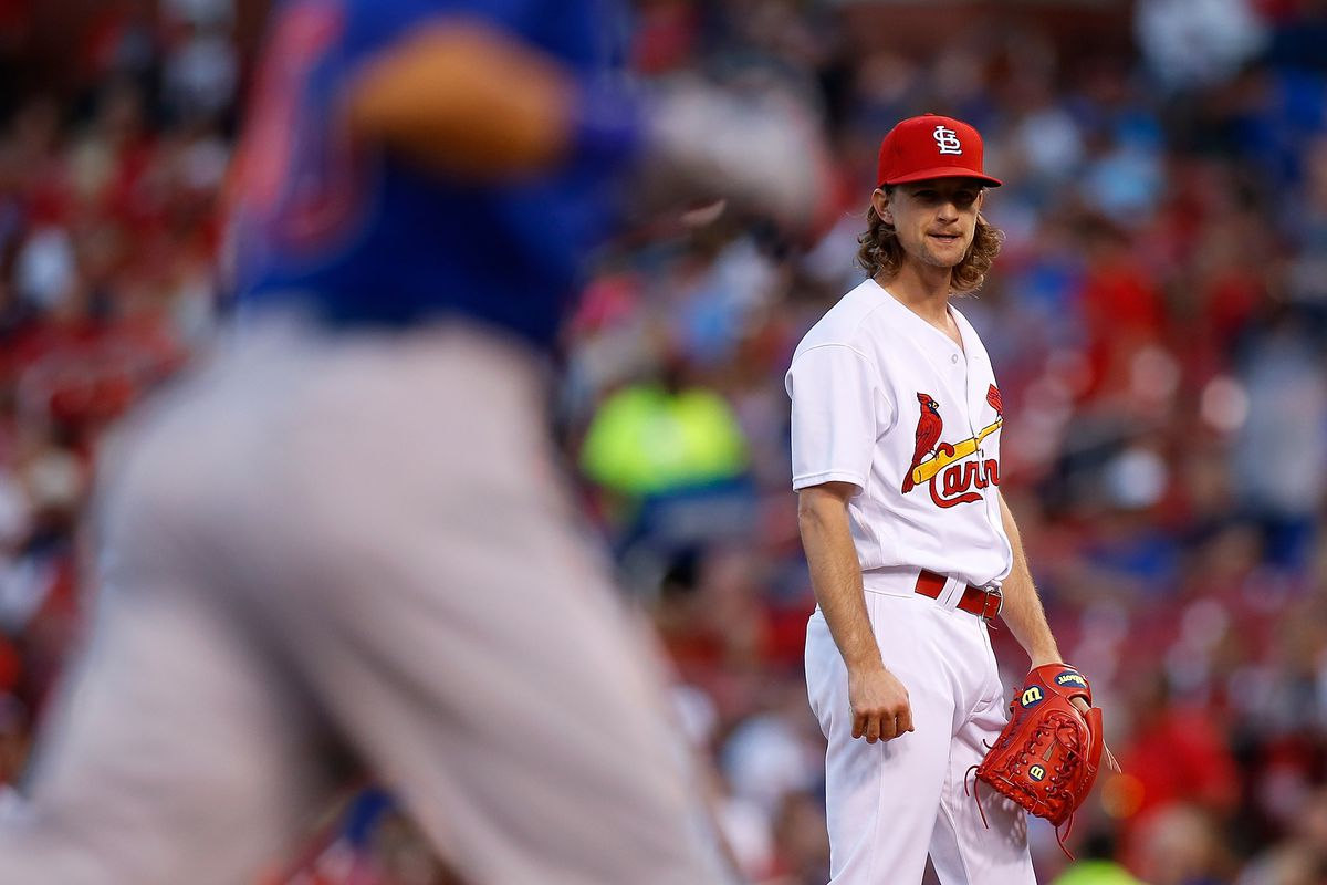 Carlos Martinez: Martinez yields three runs in 6 2/3 frames
