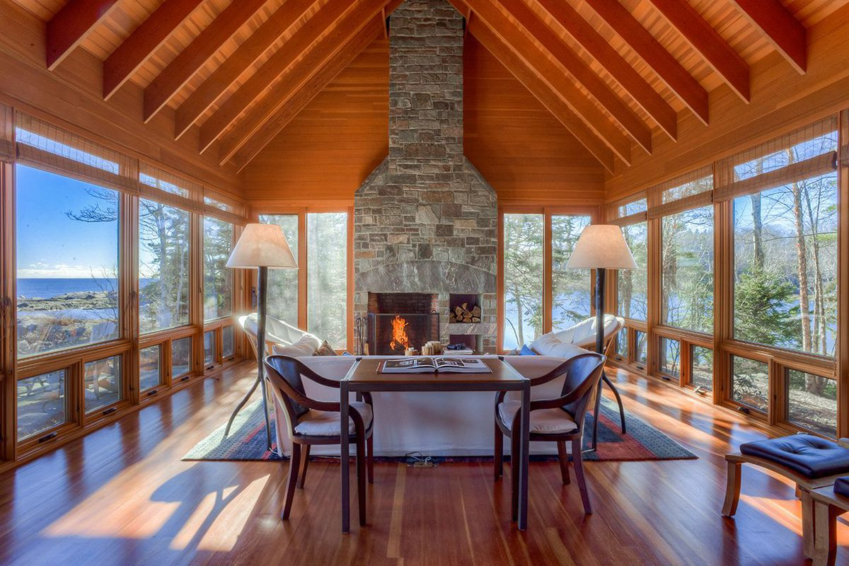 oceanfront cottage in maine with killer views asks 2m curbed