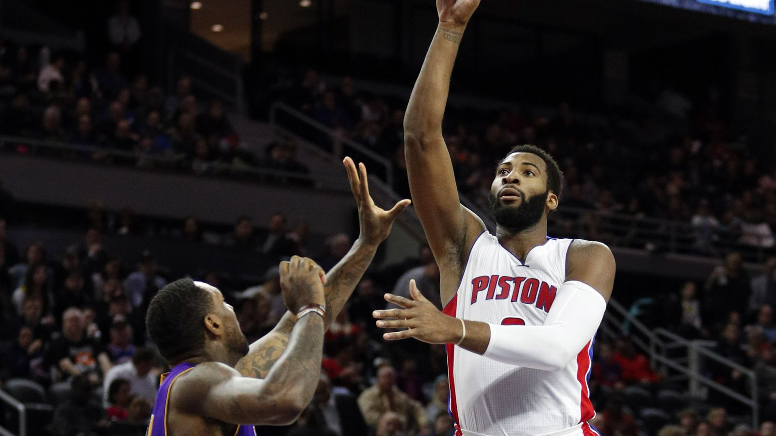 Pistons Vs Lakers: Pistons Vs. Lakers Final Score: Drummond Feasts On Baby