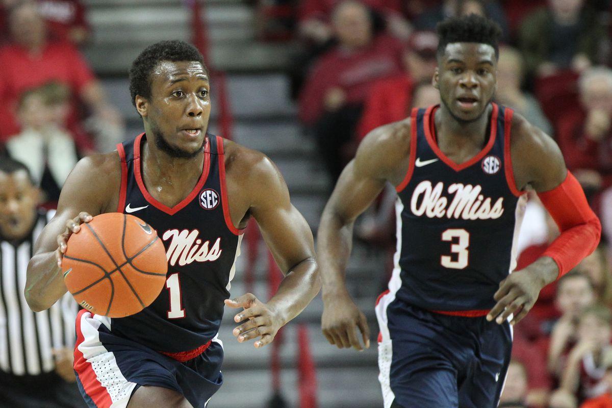 Alabama Men's Basketball Defeats Ole Miss On Senior Night