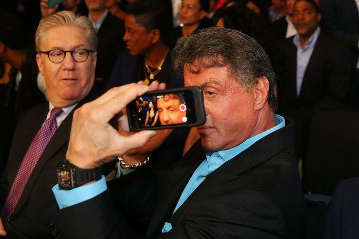stallone selfie
