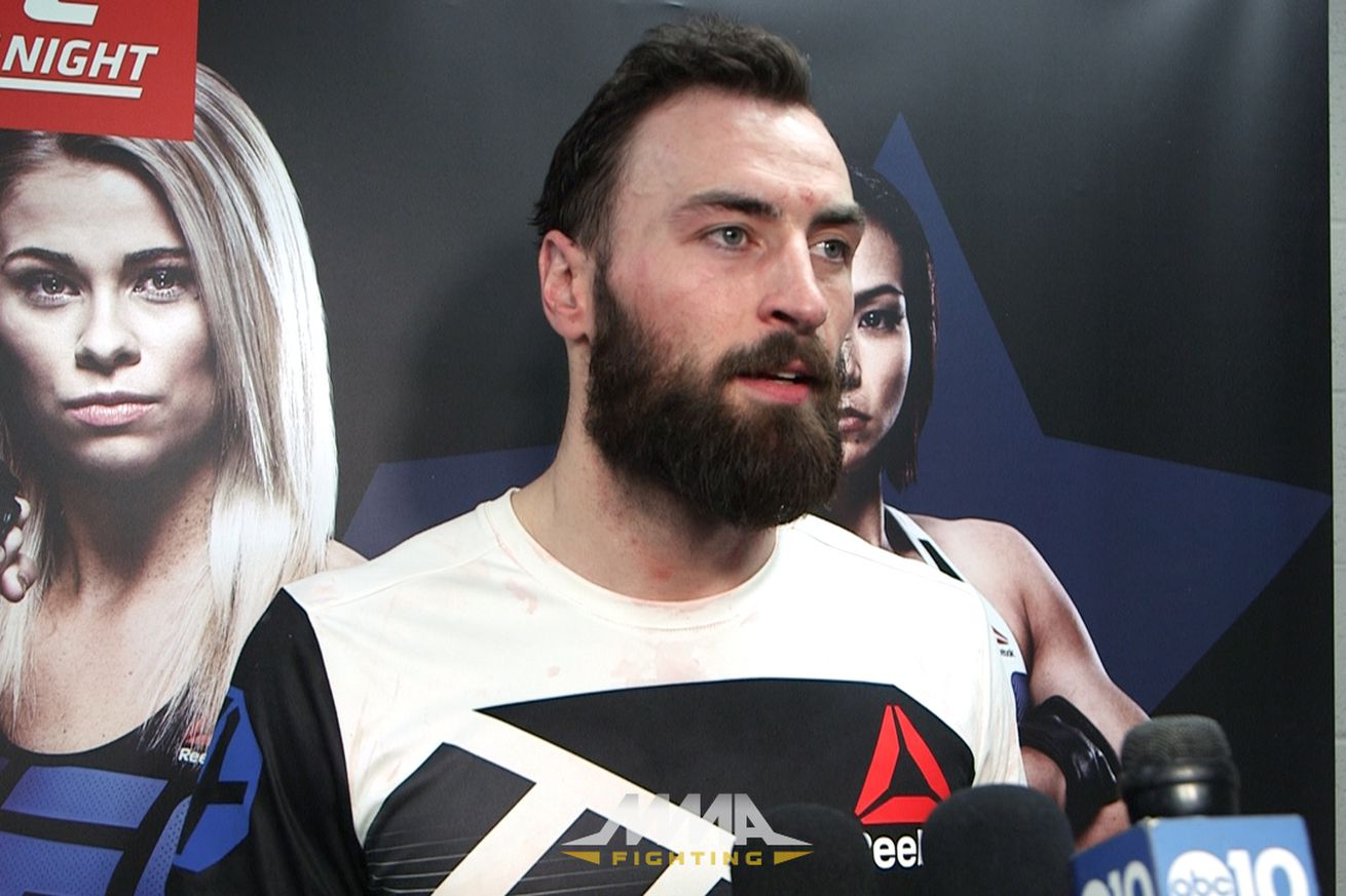 Scottish fighter Paul Craig set to meet Tyson Pedro at UFC 209