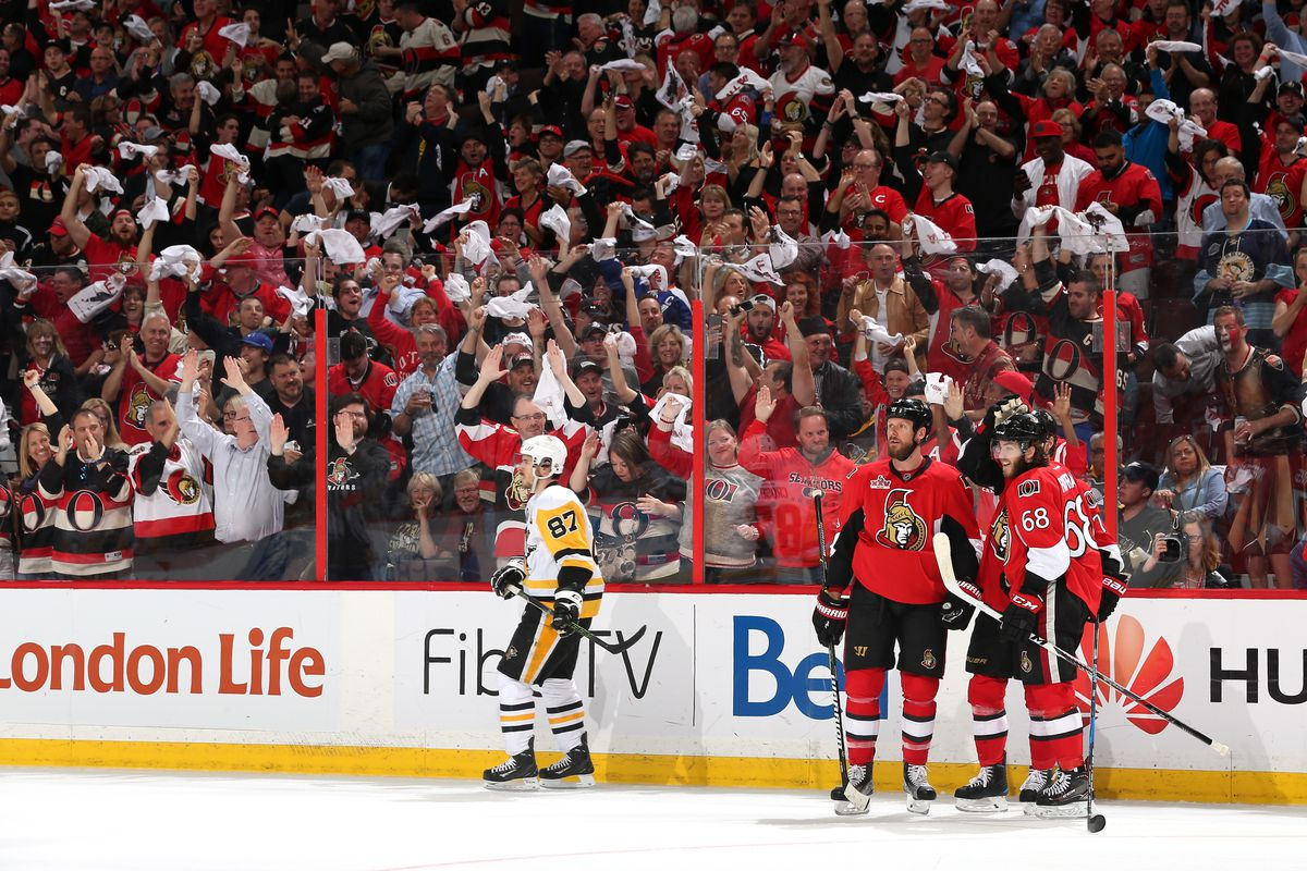 Ottawa Senators vs. Pittsburgh Penguins - 5/19/17 NHL Pick, Odds, and Prediction