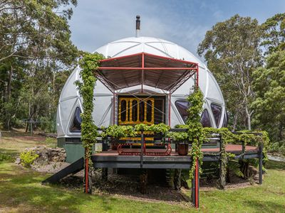 This ?70s dome home compound in Australia is simply incredible