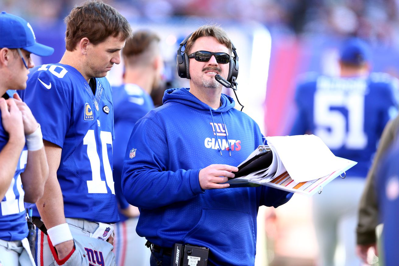 Giants name Ben McAdoo to replace Coughlin