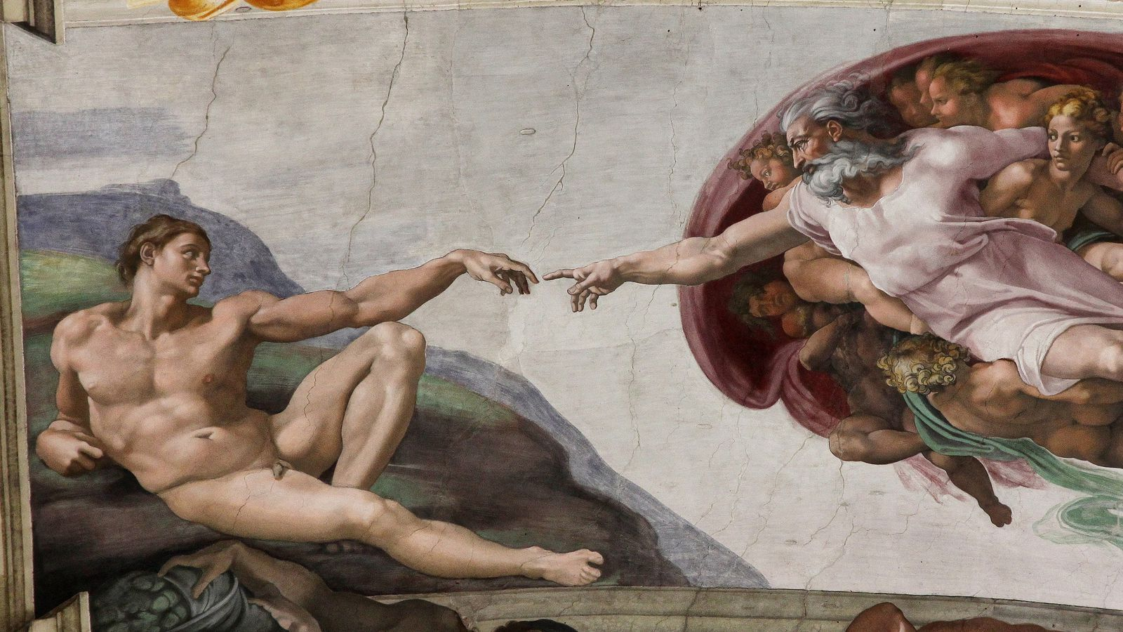 does the michelangelo painting in the westworld finale really show does the michelangelo painting in the westworld finale really show a brain or is it a uterus the verge