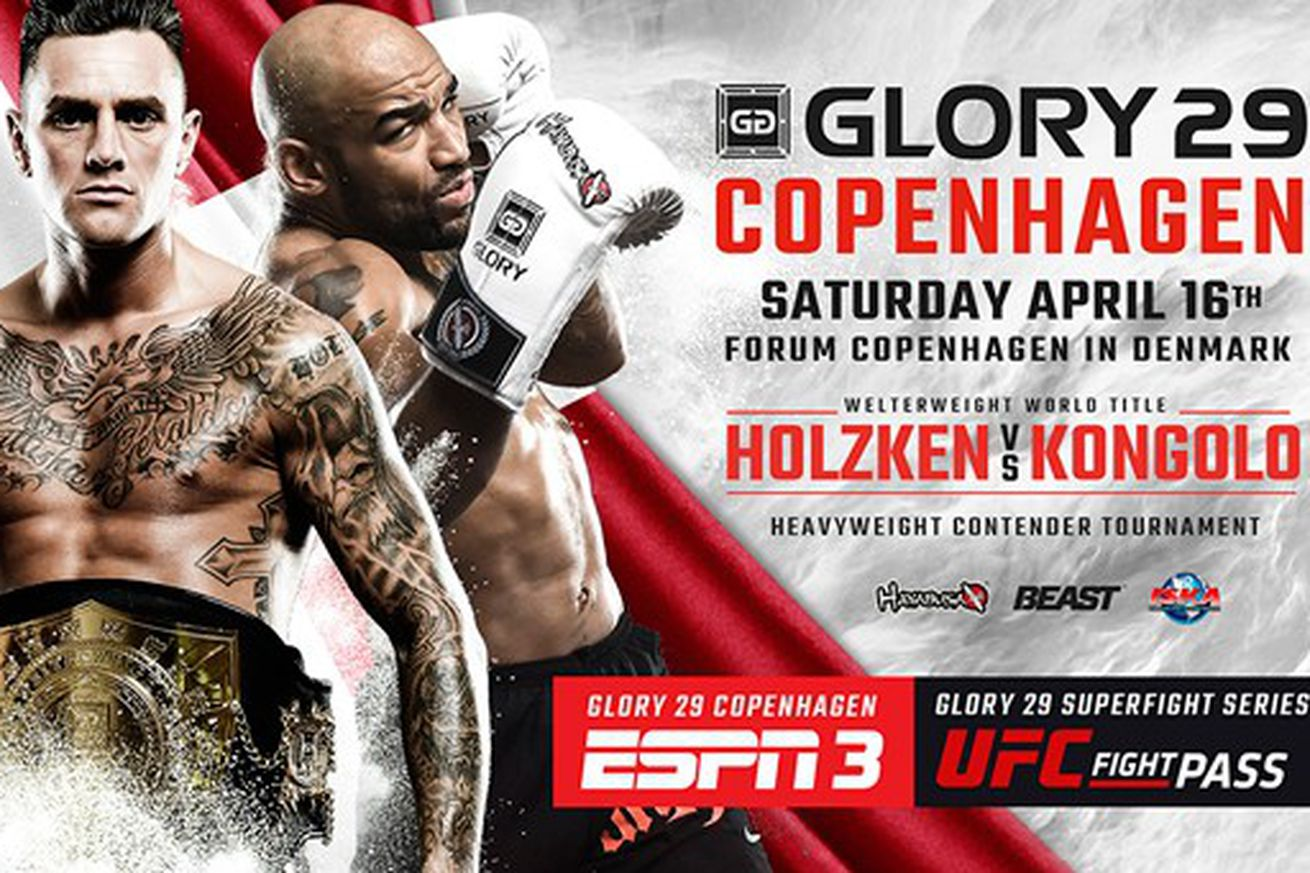 GLORY 29 preview and predictions for Holzken vs Kongolo on ESPN3