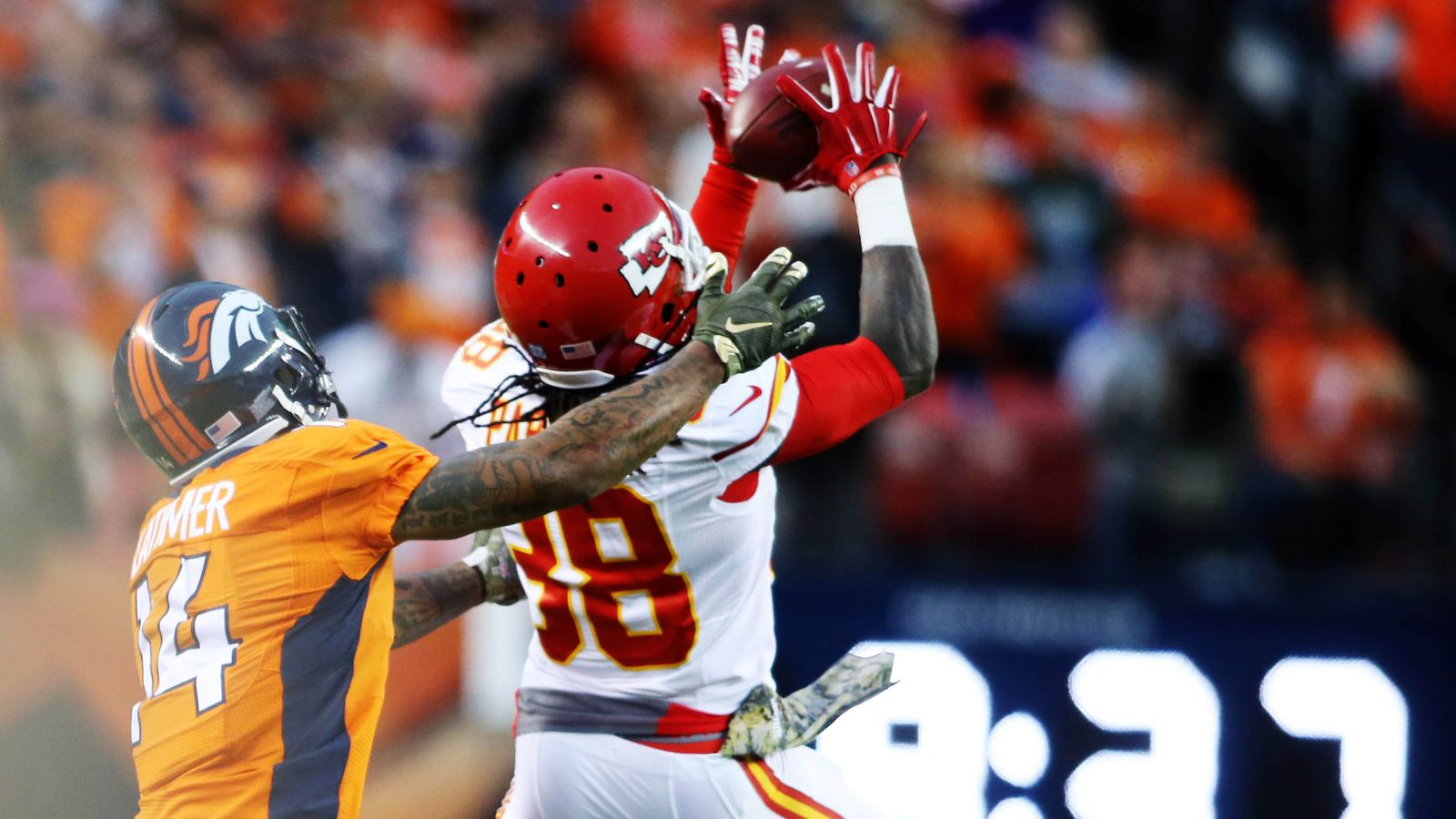Chiefs vs. Broncos final score and highlights: Kansas City doinks it in for a 30-27 overtime win ...