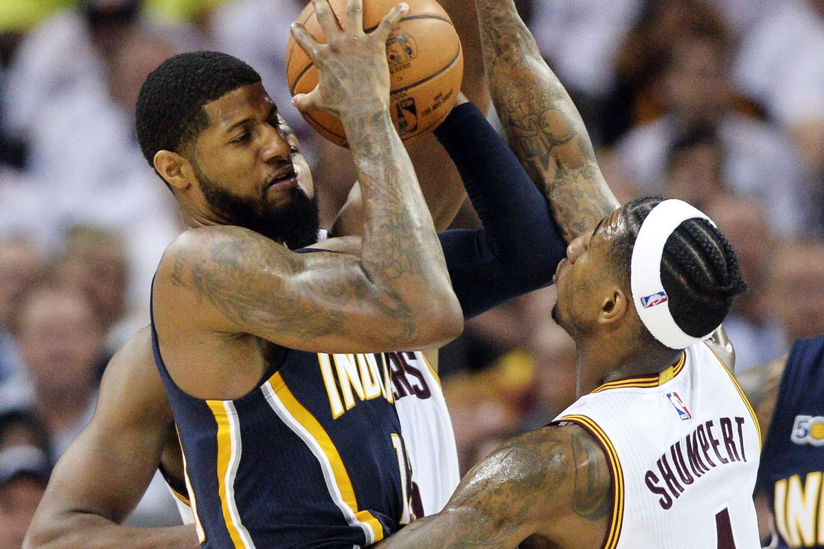 Pacers' George tried to motivate, not denigrate