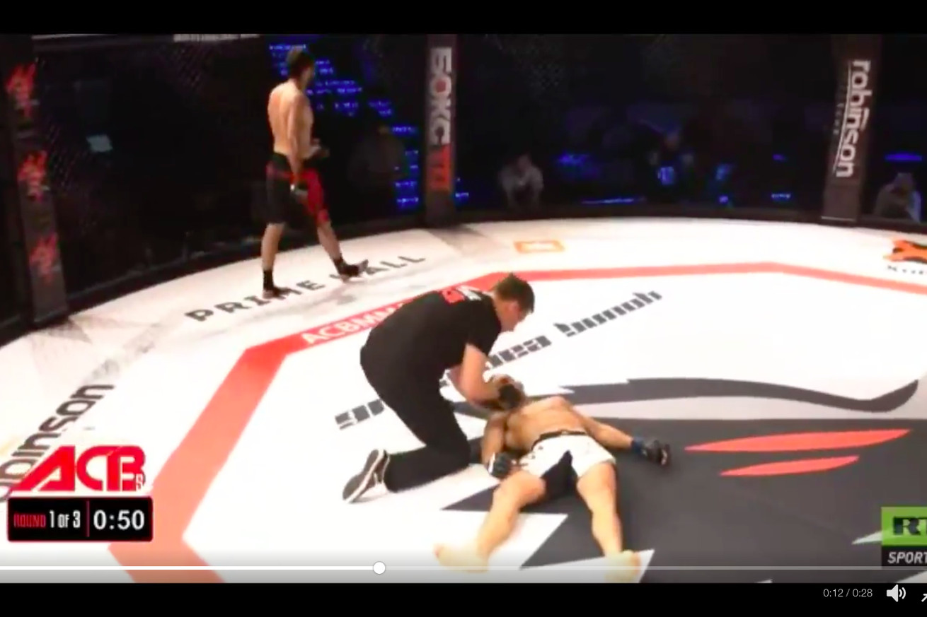 community news, VIDEO: Watch devastating flying knee knockout at ACB 56