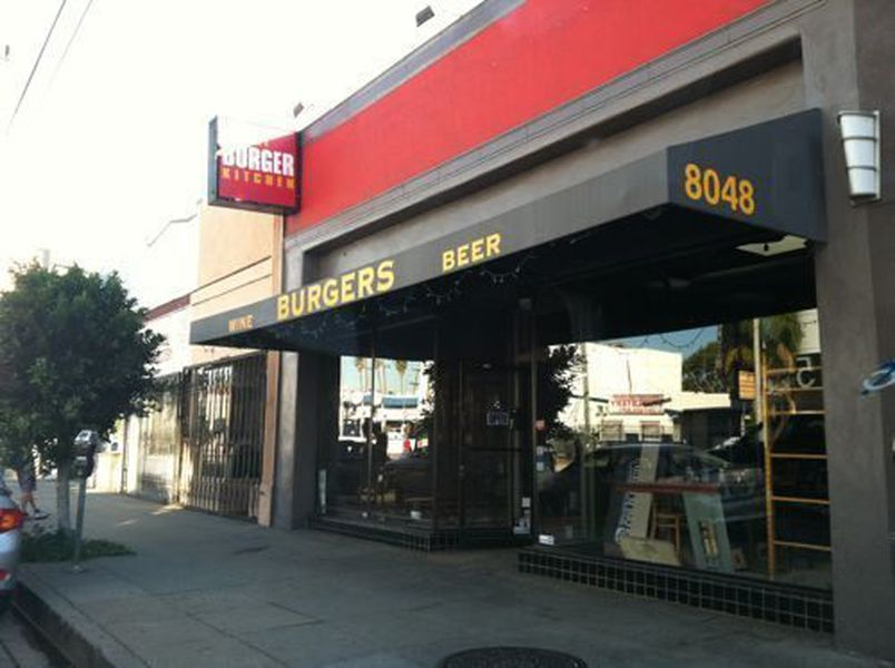 Burger Kitchen Donzo Luigi S Moves In Next Week Eater La