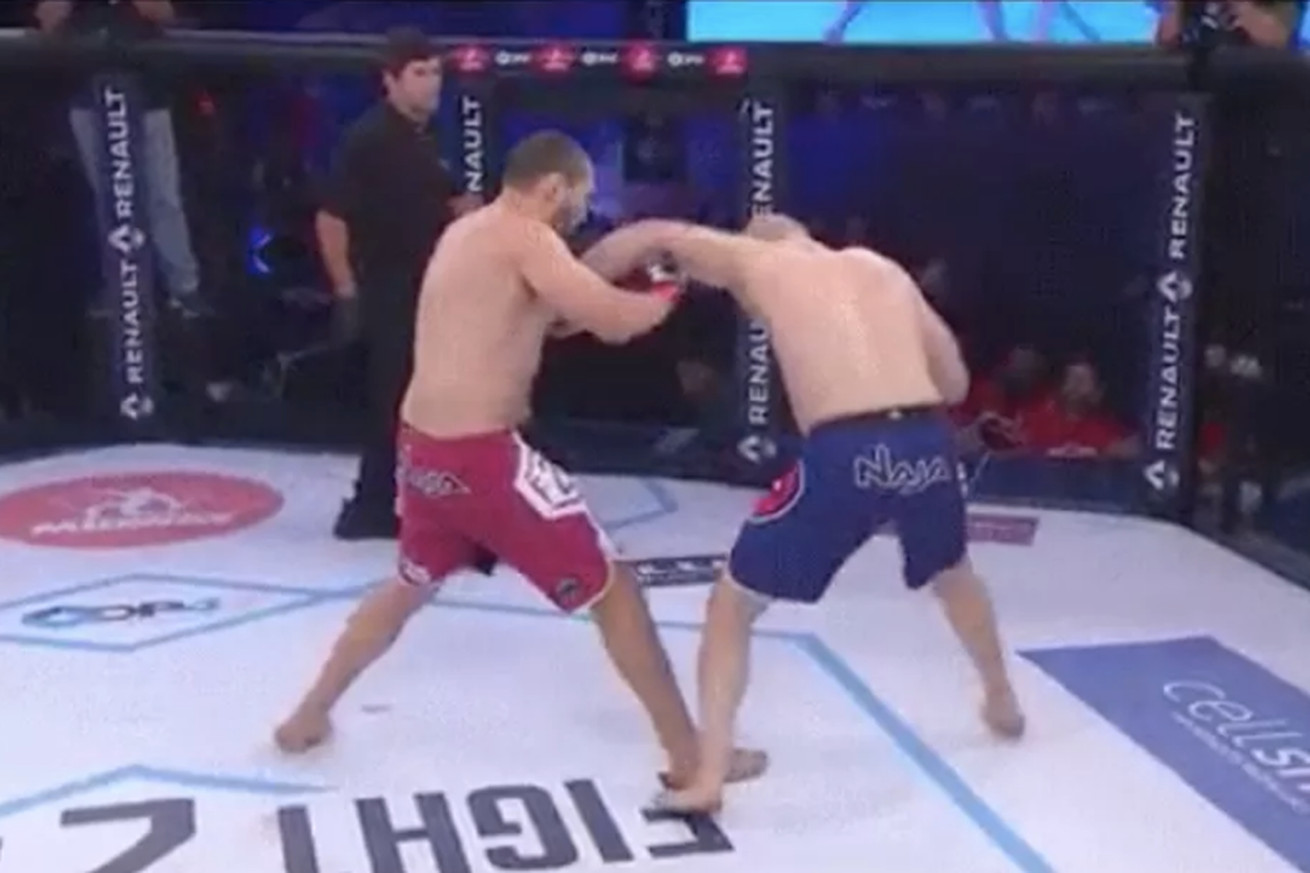 Video: Watch Matt Hamill knockout Luiz Cane at Fight2Night 2 for first victory since 2012