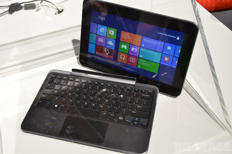 Dell announces XPS 10 Windows RT tablet with keyboard dock ...