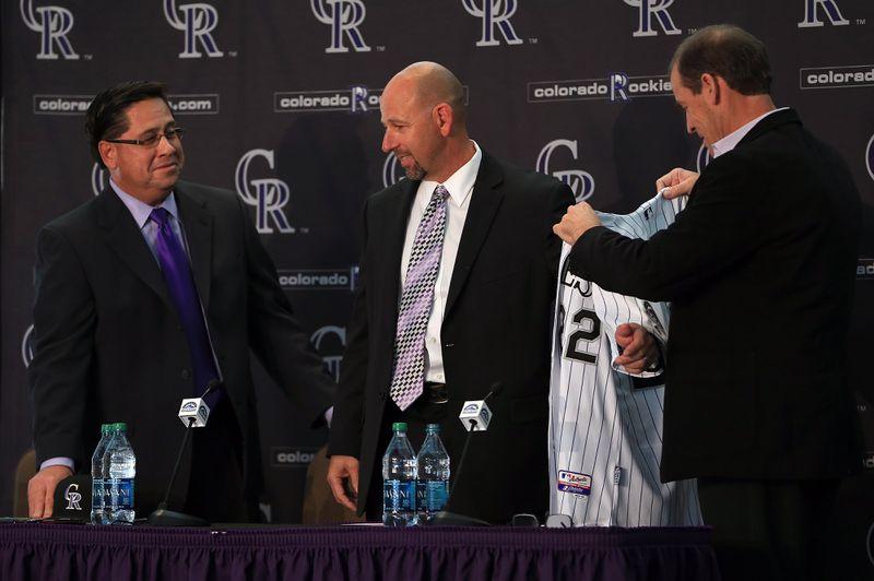 Colorado Rockies Introduce Walt Weiss