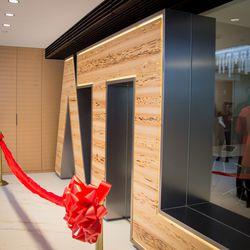 """A custom """"ATL"""" entryway by Twochair Studio."""
