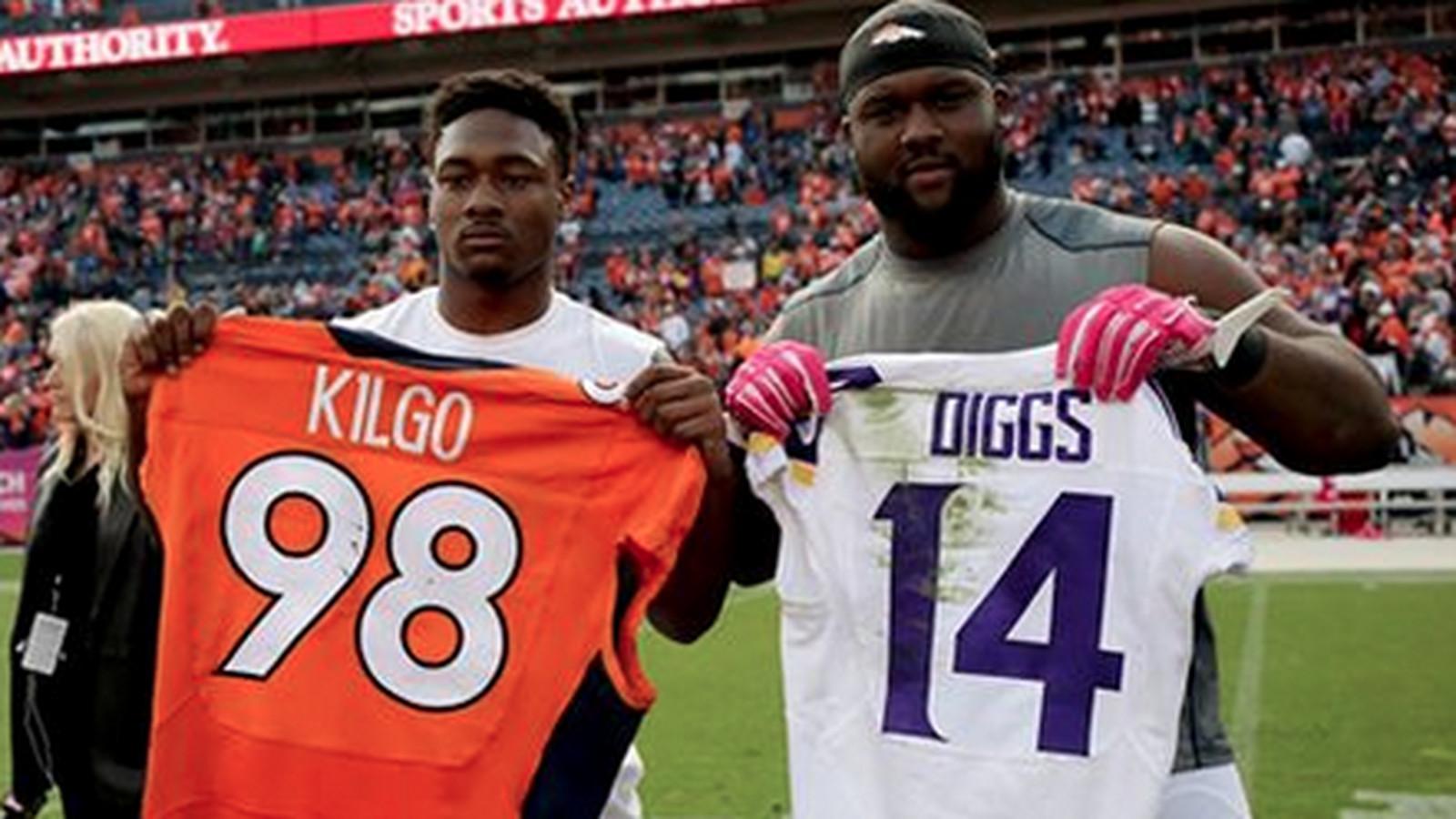 Stefon Diggs and Darius Kilgo swapped jerseys after Sunday's ...