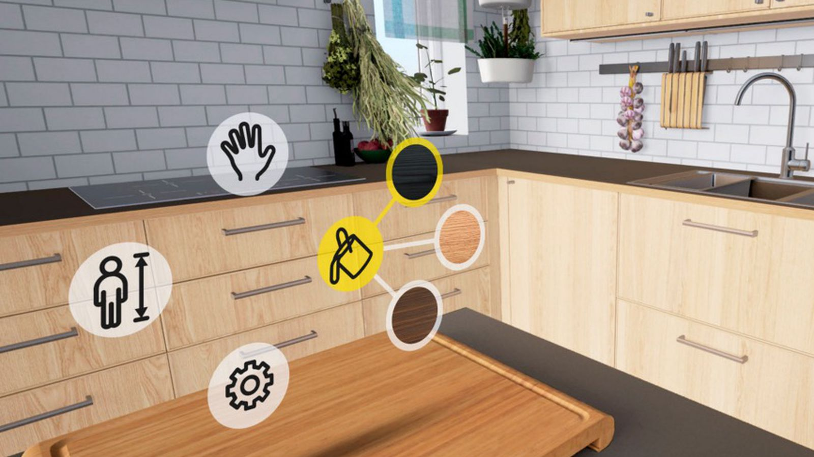 ikea turns kitchen remodelling into an htc vive vr game the verge. Black Bedroom Furniture Sets. Home Design Ideas