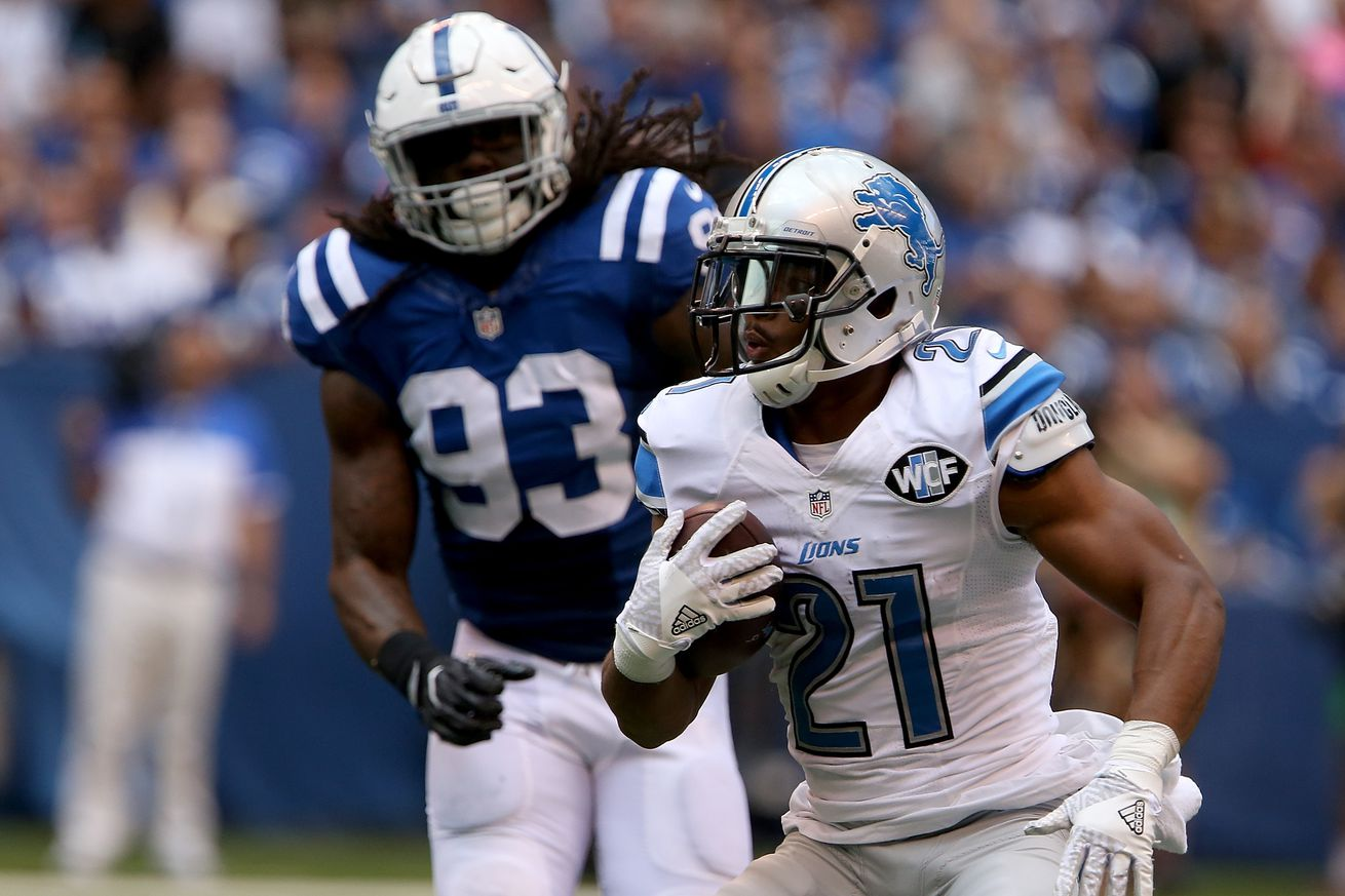 Monday open thread: What are realistic expectations for Lions running game in 2017?
