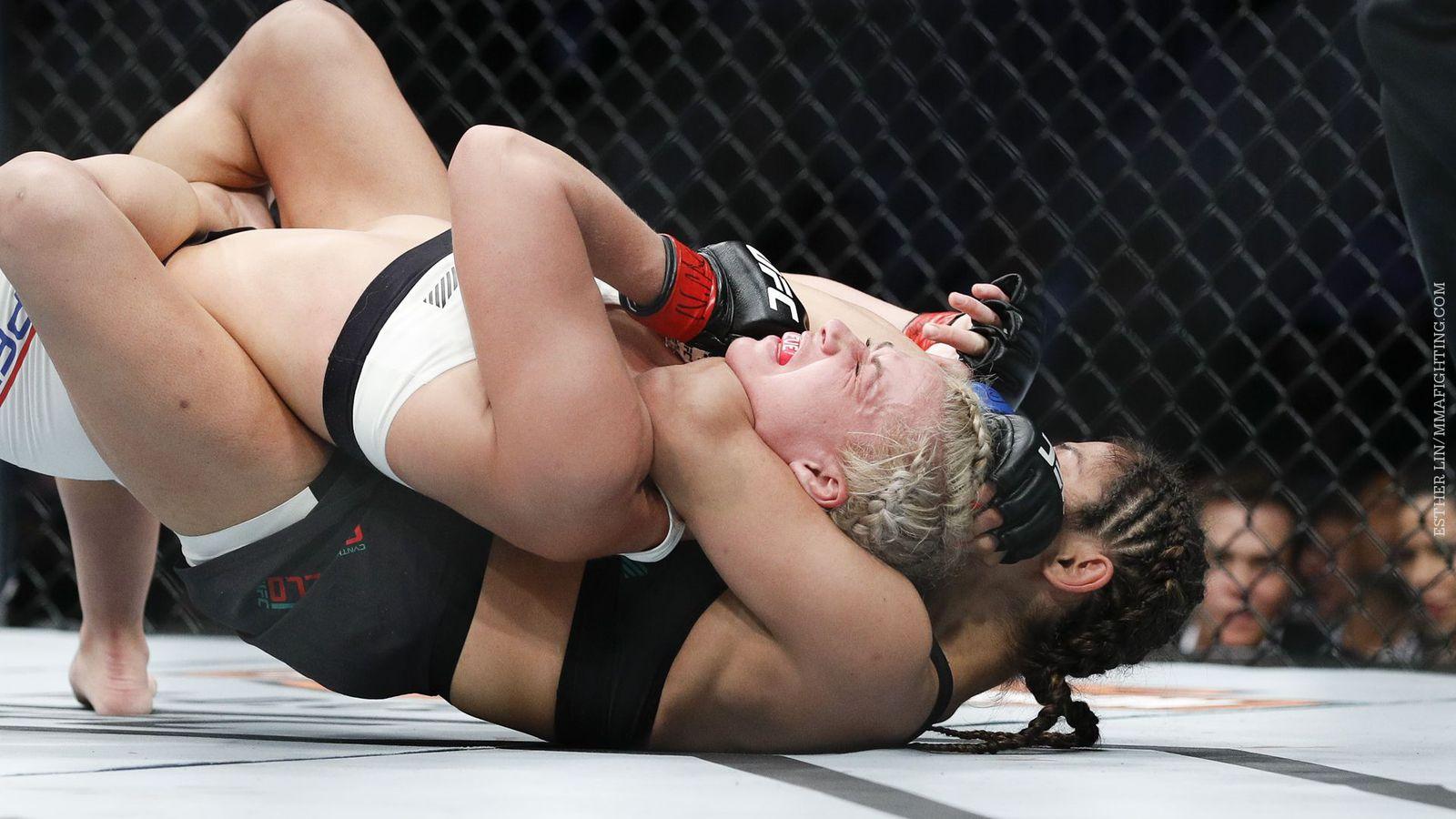 Mma fight cindy vs headgear guy 7