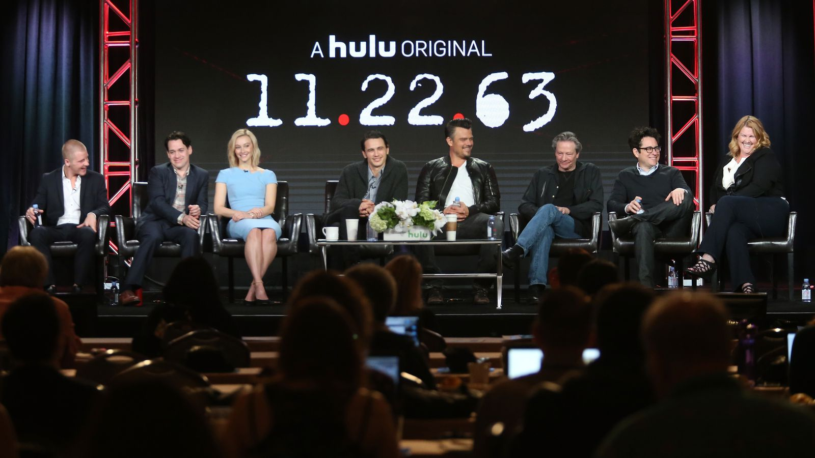 watch the first trailer for hulu 39 s time traveling sci fi series the verge. Black Bedroom Furniture Sets. Home Design Ideas