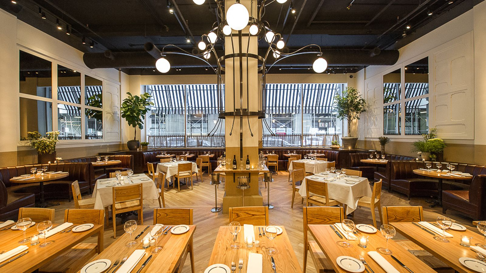 the manhattan lunch heatmap where to eat right now eater ny