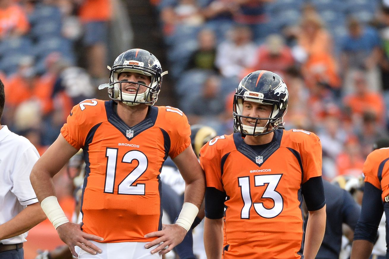 Broncos biggest question in 2017 is its quarterback
