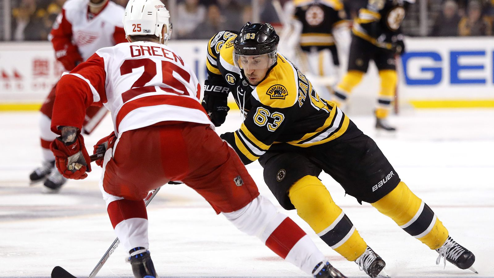 Brad Marchand fined by NHL for 'dangerous trip' on Niklas Kronwall
