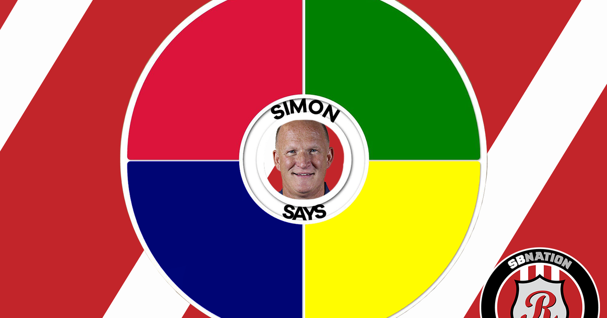 simon says what did the gaffer have to say ahead of saturday s massive game with qpr roker. Black Bedroom Furniture Sets. Home Design Ideas
