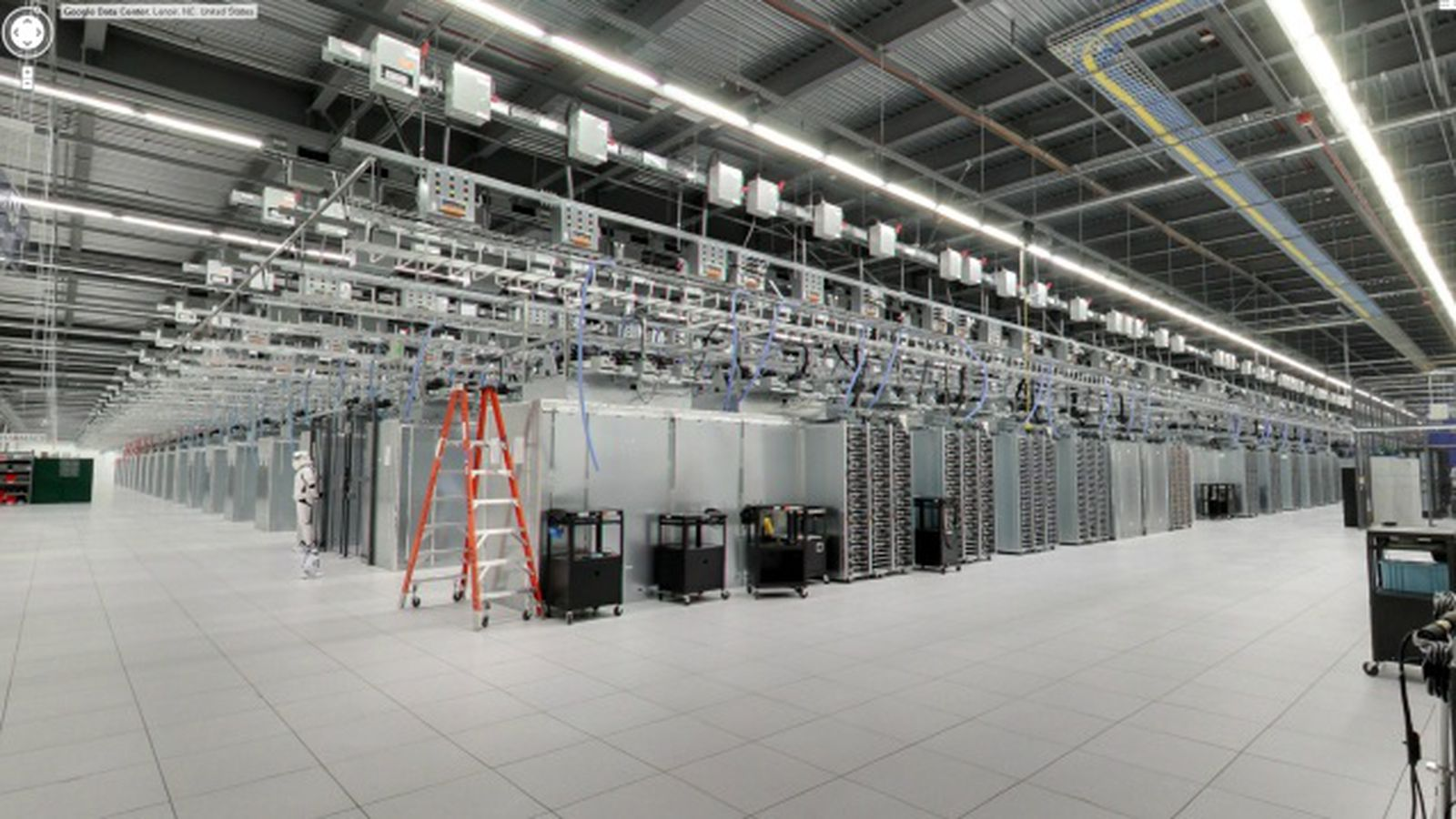 Google opens up access to data centers via Street View ...