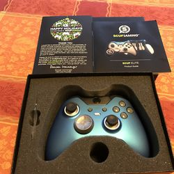 This particular Scuf controller is the Elite Sapphire.