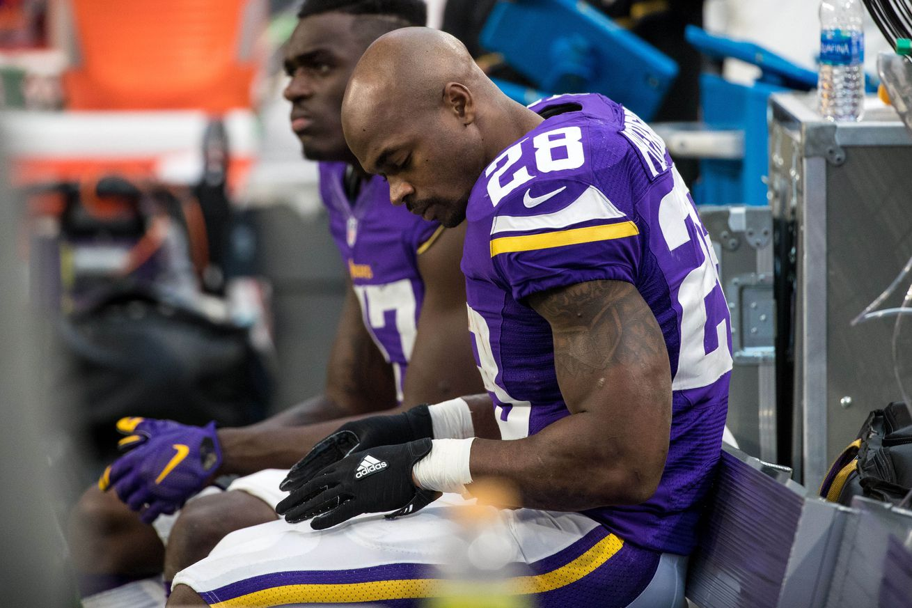 ESPN: Peterson, Vikings Haven't Talked Contract