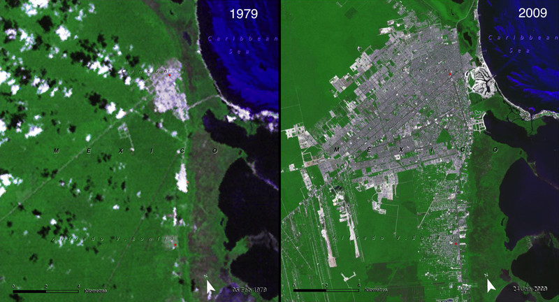 (NASA, Images of Change)