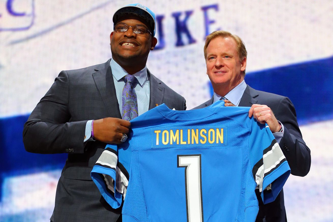 Detroit Lions Laken Tomlinson GAME Jerseys
