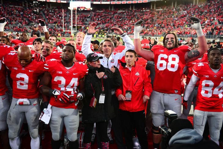 Ohio state football recruiting buckeyes class led by several top 100