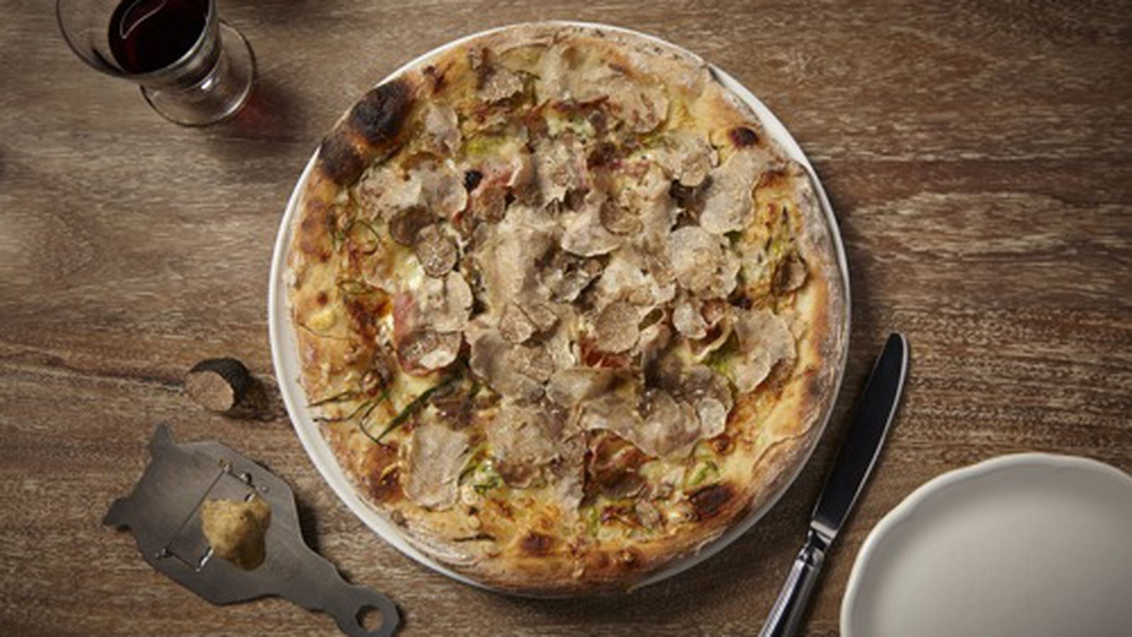 truffles pizza