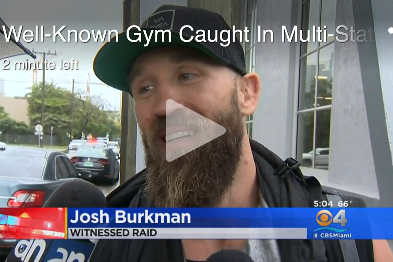 community news, Video: UFC fighter Josh Burkman wakes up, finds SWAT team raiding his building in Miami