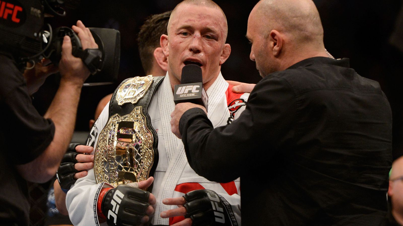 10 of the biggest overhyped mma fighters of all time - Roundtable Is Georges St Pierre Ufc S Greatest Fighter Of All Time If Anderson Silva Loses Again Bloody Elbow