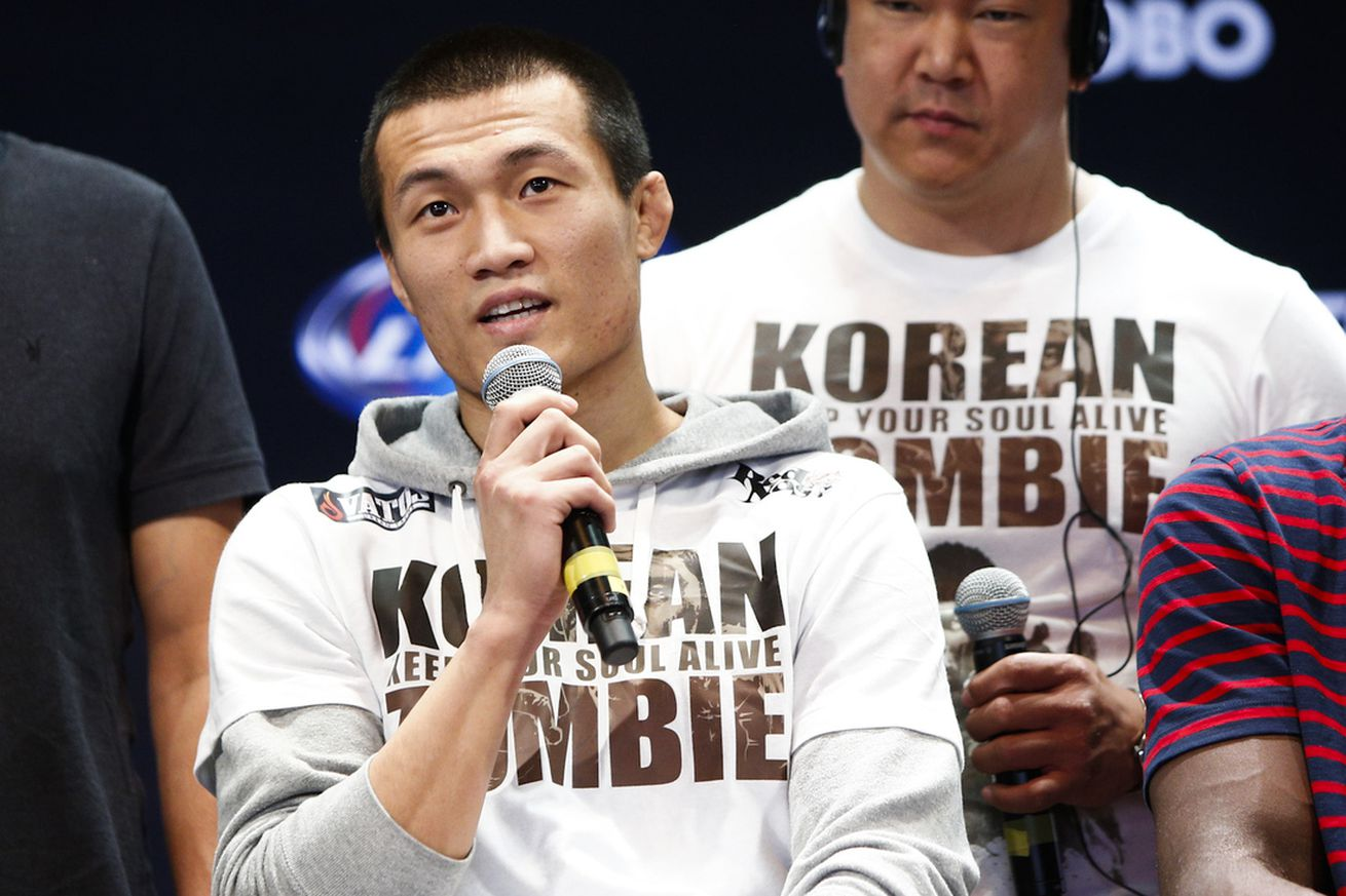 community news, The Korean Zombie talks military hiatus, return to UFC, 145 title picture, more