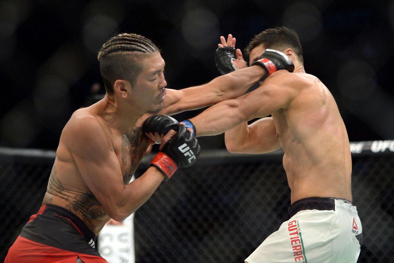 KO Alert! Watch Teruto Ishihara brutally stop Horacio Gutierrez tonight at UFC Fight Night 92
