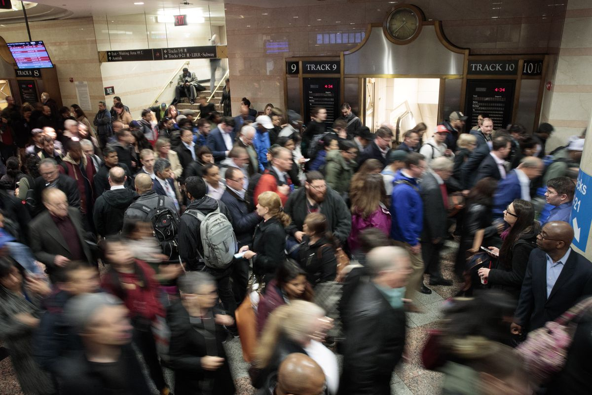 Amtrak says 6 weeks of disruptions for Penn Station repairs