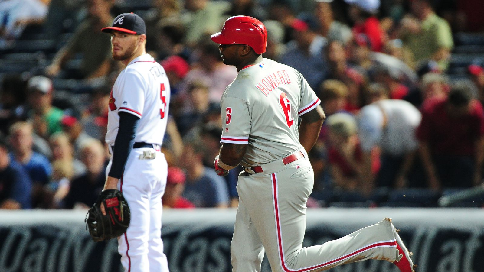 Interminable Rains of Unfortunate Timing: Braves 7,  Phillies 6 - The Good Phight