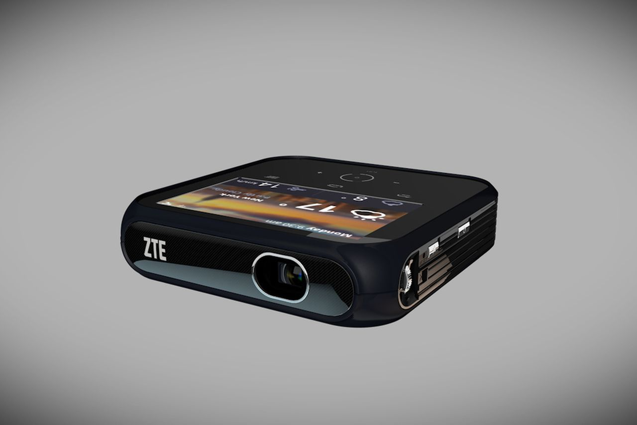 for zte mobile projector has been