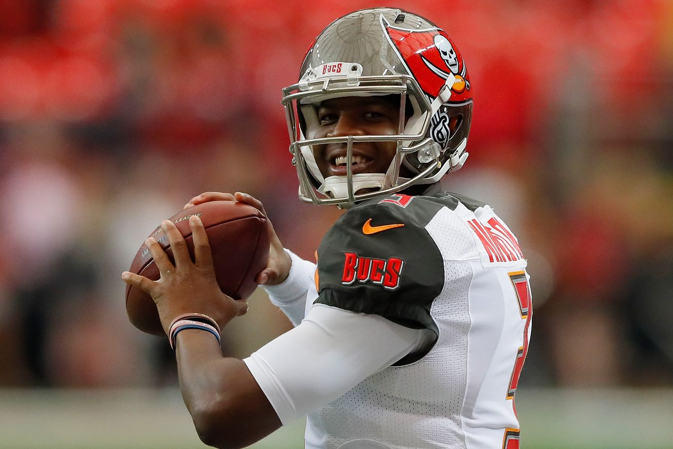 Jameis Winston was almost flawless after a shaky first quarter