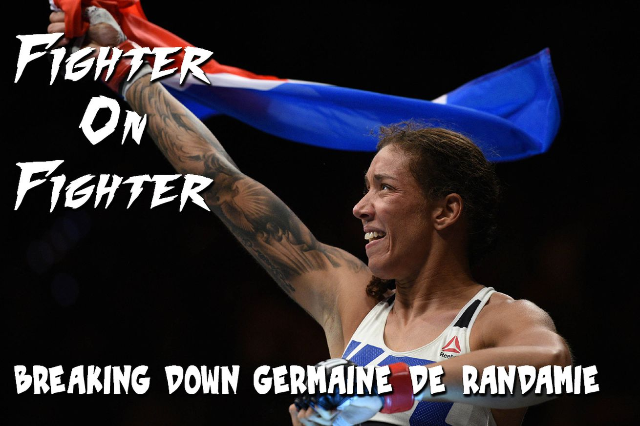 community news, Fighter on Fighter: Breaking down UFC 208s Germaine de Randamie