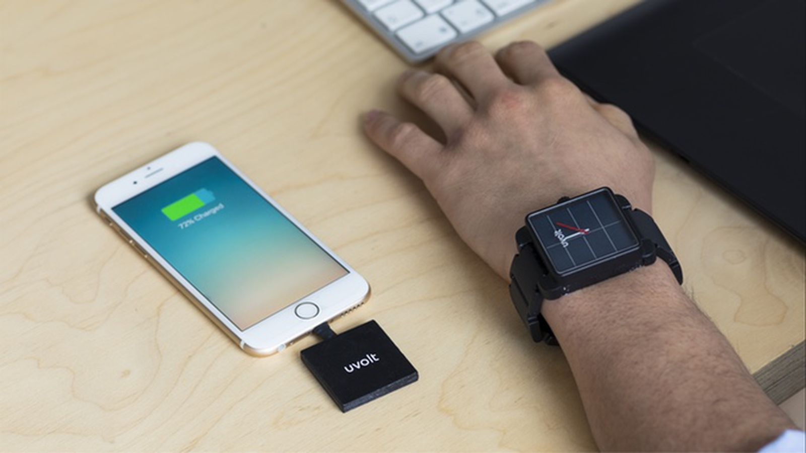 The Uvolt Is A Very Clever Watch That Doubles As A Spare