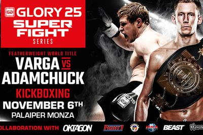 GLORY 25 welterweight tournament fighers announced, featherweight title fight added to Superfight Series