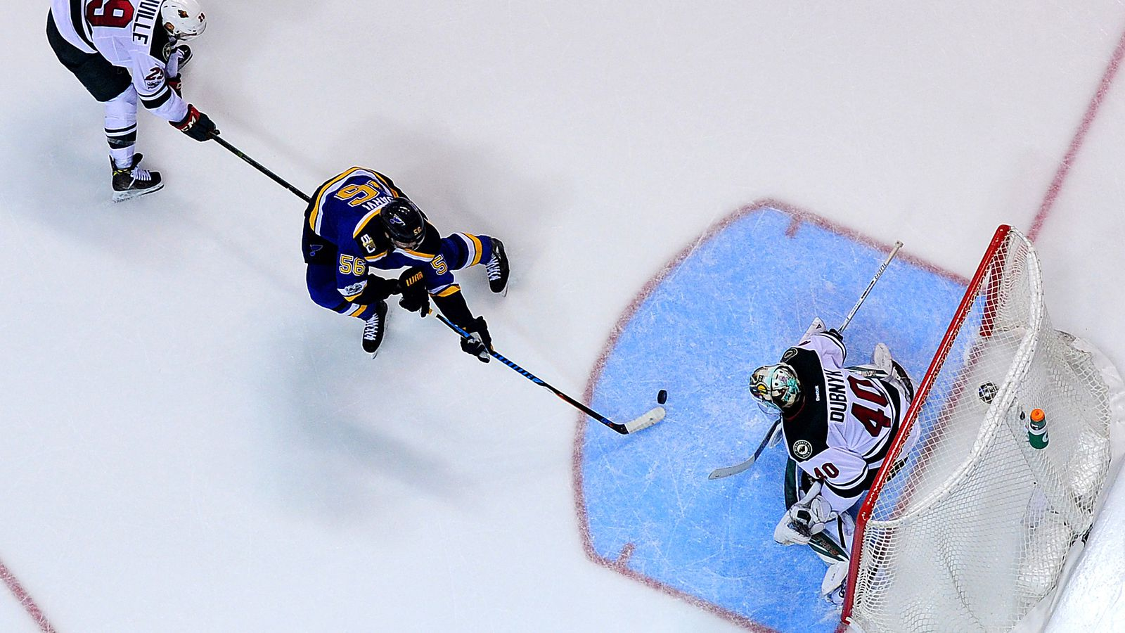 blues push wild to brink of elimination win in game  blues push wild to brink of elimination 3 1 win in game 3 hockey wilderness