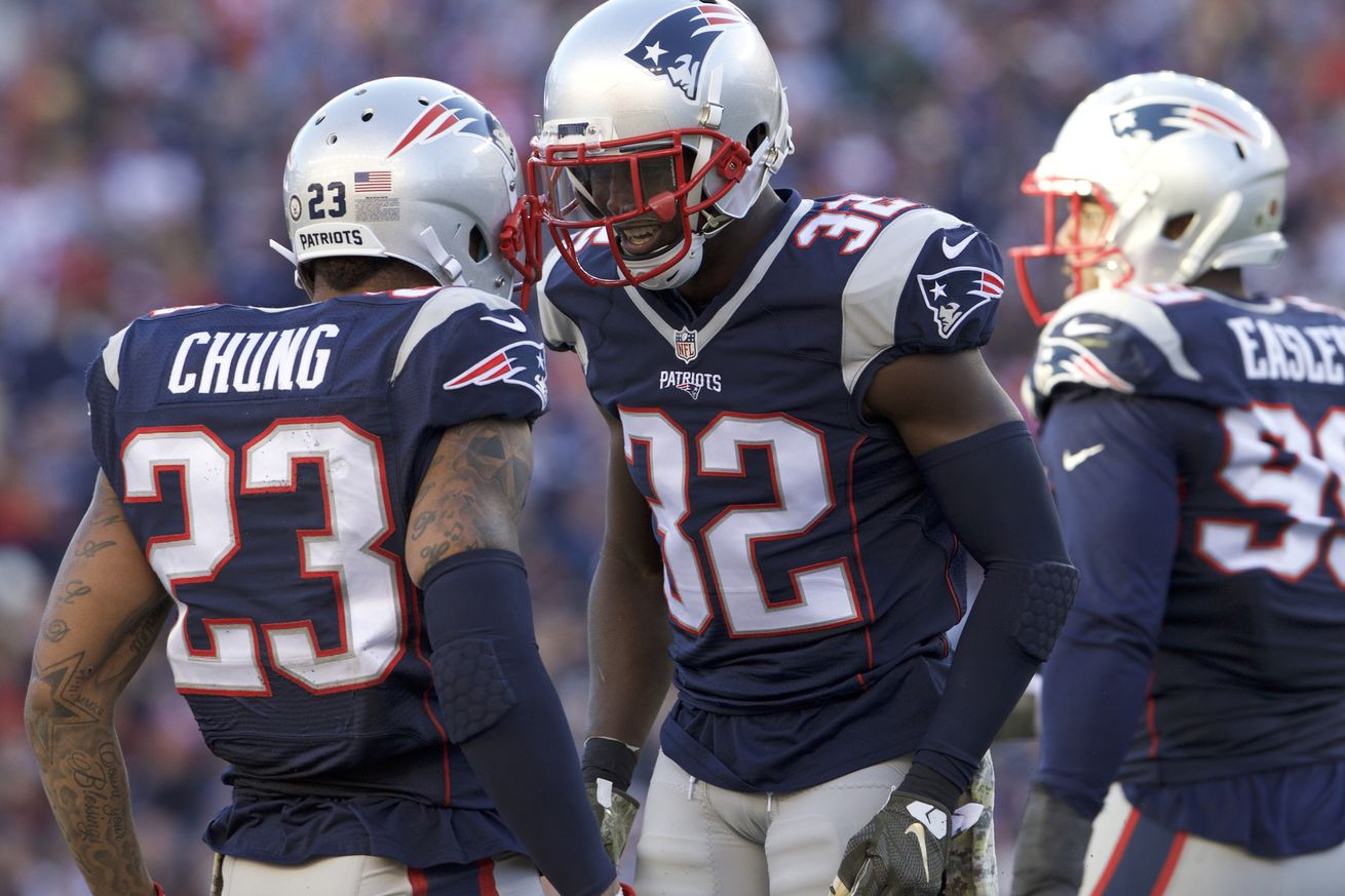Week 10 Patriots vs Giants Snaps Counts: Patrick Chung Stands Out ...